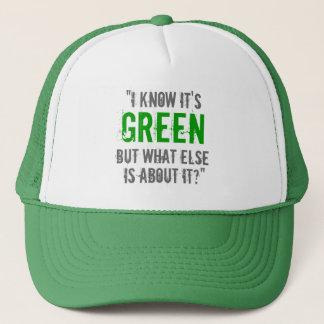 """""""Vet jag att det är grönt…"""", Keps"""