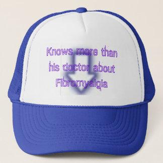 Vet mer än hans doktor om Fibromyalgia Truckerkeps