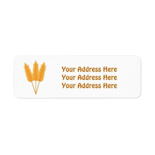 Vete förföljer adressetiketter