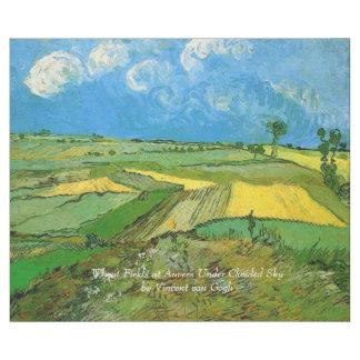 Vetefält på Auvers under fördunklad himmel, Van Presentpapper
