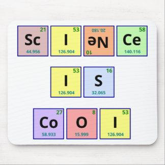 Vetenskap är kall mus matta