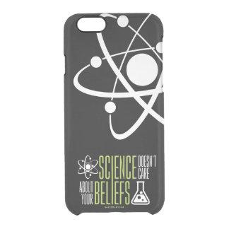 Vetenskap att bry sig inte clear iPhone 6/6S skal