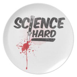 Vetenskap hårt! tallrik