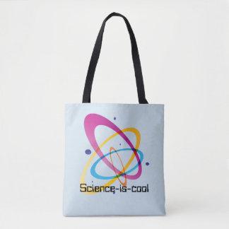 Vetenskap-vara-coola all över - trycktotot hänger tygkasse