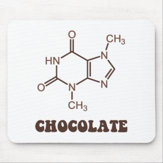 Vetenskaplig molekyl för chokladinslagTheobromine Musmatta