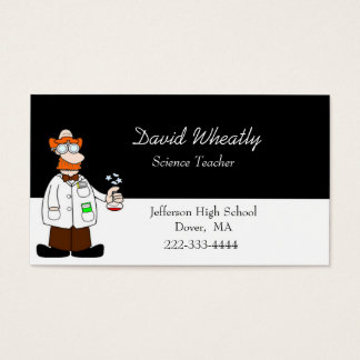 Vetenskapslärarevisitkort Visitkort