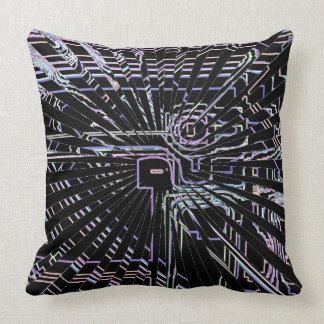 Vetenskapsteknologi som iscensätter konst kudde