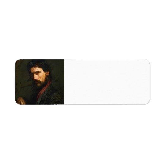 Veteran av Thomas Eakins Returadress Etikett