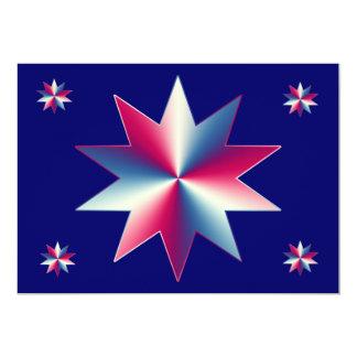Veteran dagfirande 12,7 x 17,8 cm inbjudningskort