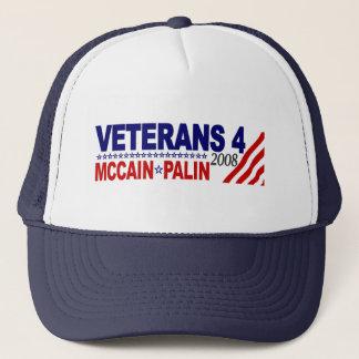 Veteran för McCain Palin 2008 Truckerkeps