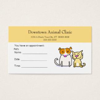 Veterinär- möte kort