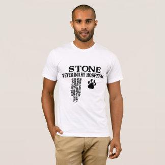Veterinär- sjukhus för sten t-shirts