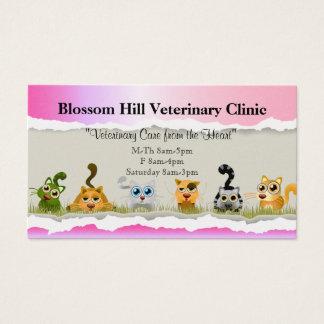 Veterinär- visitkort