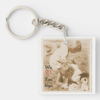 Vi älskar dig den Nan nyckelringen
