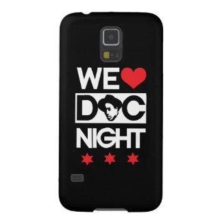 Vi älskar Doc-natten (röda stjärnor för DC) Galaxy S5 Fodral