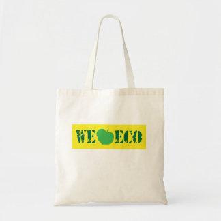 Vi älskar eco tygkasse