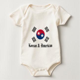 Vi är all Amerika - koreanen & amerikanen Bodies För Bebisar
