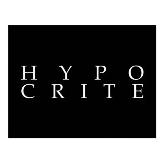 Vi är alla hypocrites vykort