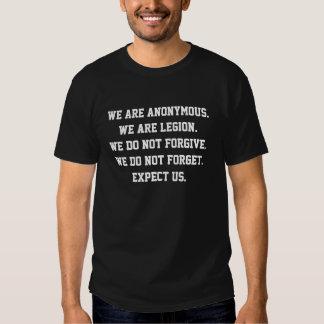 Vi är anonymous. tröjor