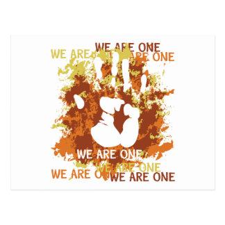Vi är en vykort