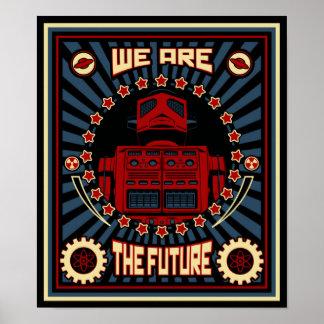 Vi är framtiden affischer