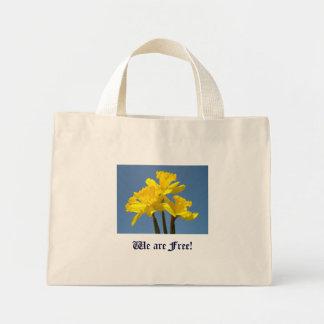 Vi är fria för naturpåsklilja för gåvor blom- blo