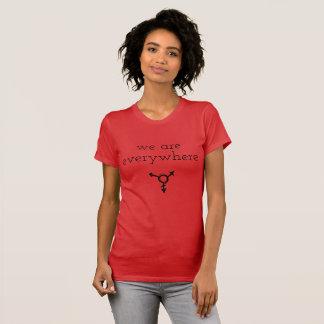 vi är överallt tshirten tee shirt