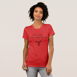 vi är överallt tshirten tröjor