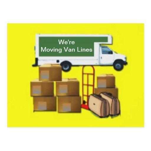 Vi flyttar oss, eller vi flyttat vykort