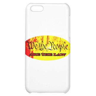 Vi folket ÄR LAGEN de MUSEUMZazzle gåvorna iPhone 5C Mobil Skal