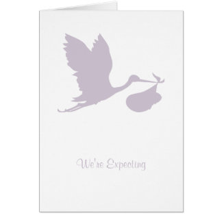 Vi förväntar kortet hälsningskort