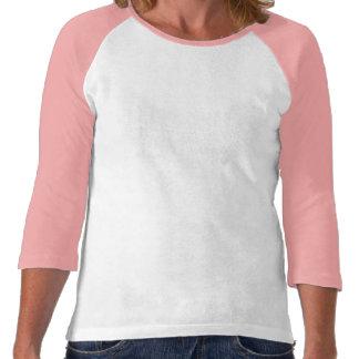 Vi går för hopp 3 4 sleeveskjorta tröjor