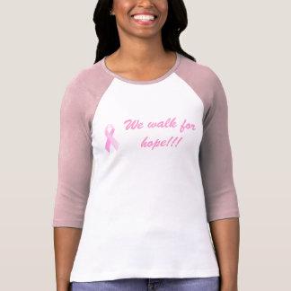 Vi går för hopp!!! 3/4 sleeveskjorta tröjor