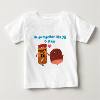Vi går tillsammans lik PJ och skinka T Shirt