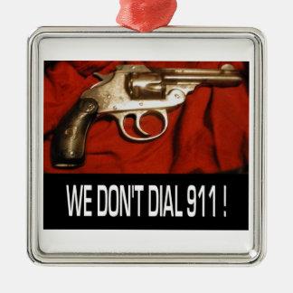VI GÖR INTE RINGER PRYDNADEN FÖR 911 BIL JULGRANSPRYDNAD METALL