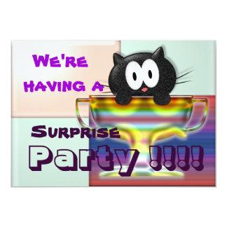 Vi har ett party!!!! 12,7 x 17,8 cm inbjudningskort
