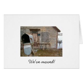 Vi har flyttat! OBS kort