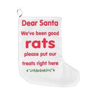 vi har varit bra råttor stor julstrumpa