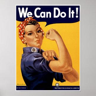 Vi kan göra det! poster