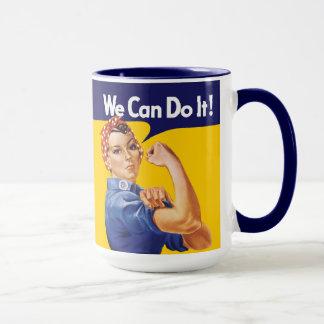 Vi kan göra det! Rosie riveteren Mugg