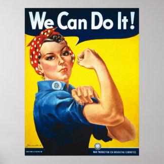 Vi kan göra det! Rosie riveteren Poster