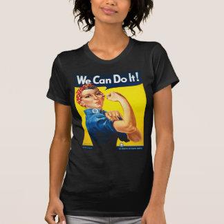Vi kan göra det! Rosie riveteren Tee Shirt