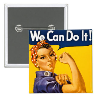 Vi kan göra det! Rosie Rivetervintagen WW2