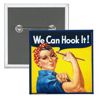Vi kan haka det! - knäppas standard kanpp fyrkantig 5.1 cm