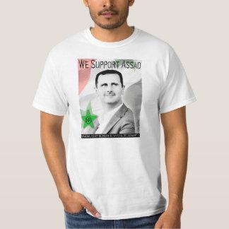 Vi stöttar Bashar Assad! T-shirt
