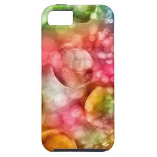 Vibrerande Bokeh bubblar Tough iPhone 5 Fodral