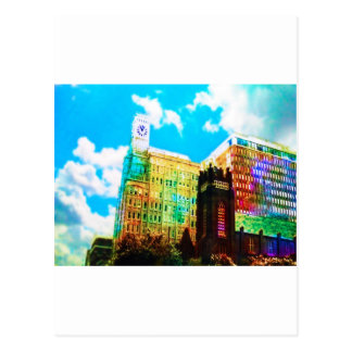 vibrerande centra vykort