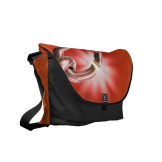 Vibrerande Chainlink messenger bag