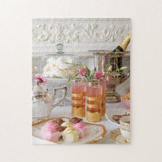 Vibrerande engelsk Tea, Fondantfinarepussel Foto Pussel