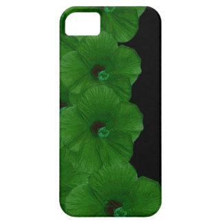 Vibrerande gröntblommor iPhone 5 Case-Mate skydd